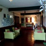 Sala de estar hostel Timbó Posada