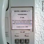 Hotel America Mendoza Argentina telefono