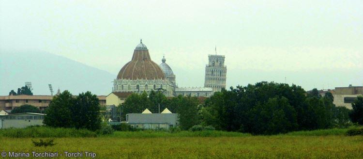 De Francia a Italia - Torre de Pisa